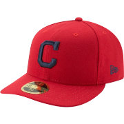 New Era Men's Cleveland Indians 59Fifty Alternate Red Low Crown Fitted Hat