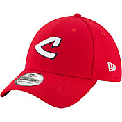 New Era Men's Cleveland Indians 39Thirty Cooperstown Red Stretch Fit Hat
