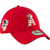 New Era Men's Los Angeles Angels 39Thirty 2018 4th of July Stretch Fit Hat