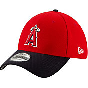 New Era Men's Los Angeles Angels 39Thirty HexTech Batting Practice Stretch Fit Hat