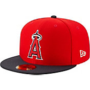 426638748d89ac Product Image · New Era Men's Los Angeles Angels 59Fifty HexTech Batting  Practice Fitted Hat