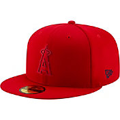 New Era Men's Los Angeles Angels 59Fifty Clubhouse Red Fitted Hat