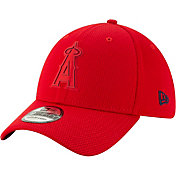 New Era Men's Los Angeles Angels 39Thirty Clubhouse Red Stretch Fit Hat