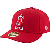 New Era Men's Los Angeles Angels 59Fifty Game Red Low Crown Fitted Hat