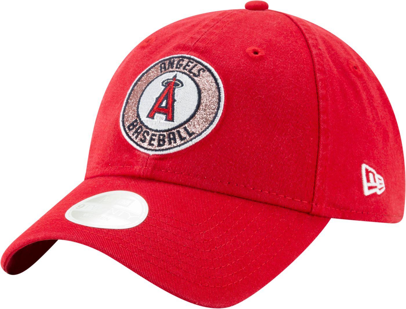 New Era Women's Los Angeles Angels 9Twenty Patched Sparkle Adjustable Hat