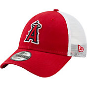 New Era Men's Los Angeles Angels 9Forty Team Trucker Adjustable Hat