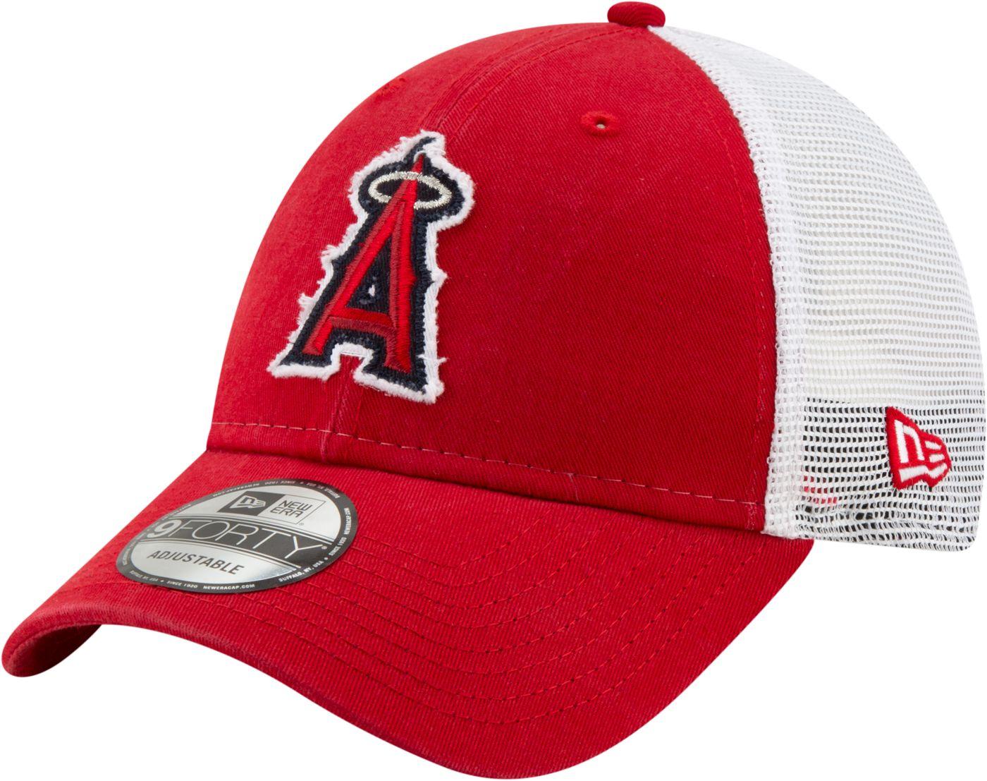New Era Men's Los Angeles Angels 9Forty Team Trucker Adjustable Hat