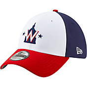 New Era Men's Washington Nationals 39Thirty HexTech Batting Practice Stretch Fit Hat