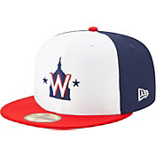 New Era Men's Washington Nationals 59Fifty HexTech Batting Practice Fitted Hat