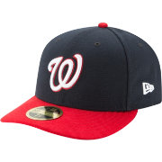 New Era Men's Washington Nationals 59Fifty Alternate Navy Low Crown Fitted Hat