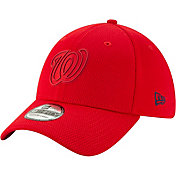 New Era Men's Washington Nationals 39Thirty Clubhouse Red Stretch Fit Hat