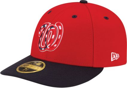 cade4cdeabc73 New Era Men s Washington Nationals 59Fifty Alternate Red Low Crown Fitted  Hat. noImageFound