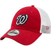 New Era Men's Washington Nationals 9Forty Team Trucker Adjustable Hat