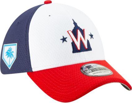 New Era Men s Washington Nationals 39Thirty HexTech 2019 Spring Training  Stretch Fit Hat. noImageFound b20b7ff22263