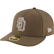 New Era Men's San Diego Padres 59Fifty Alternate Brown Low Crown Fitted Hat
