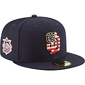 New Era Men's San Diego Padres 59Fifty 2018 4th of July Fitted Hat