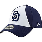 New Era Men's San Diego Padres 39Thirty HexTech Batting Practice Stretch Fit Hat