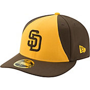 New Era Men's San Diego Padres 59Fifty Alternate Yellow Low Crown Fitted Hat
