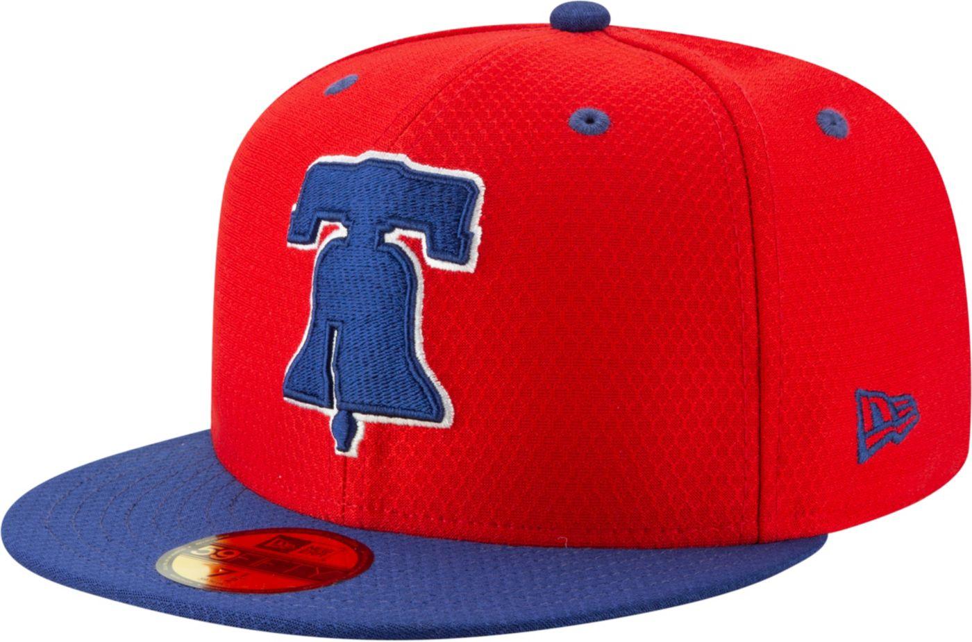 New Era Men's Philadelphia Phillies 59Fifty HexTech Batting Practice Fitted Hat