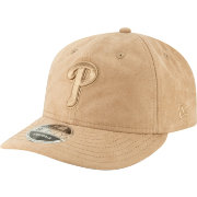 New Era Men's Philadelphia Phillies 9Fifty Suede Retro Brown Adjustable Snapback Hat