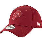 New Era Men's Philadelphia Phillies 39Thirty Clubhouse Maroon Stretch Fit Hat