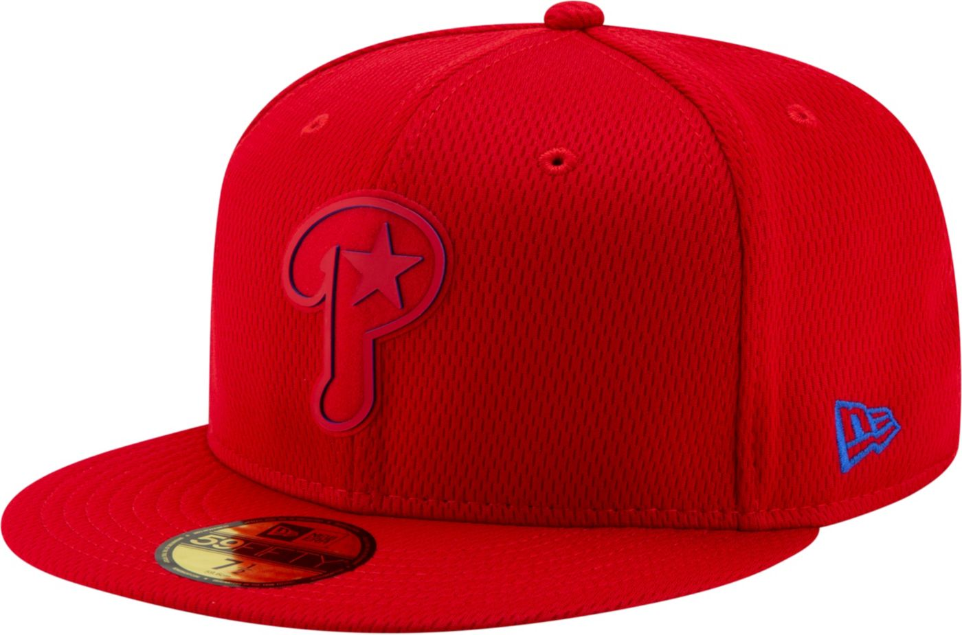 New Era Men's Philadelphia Phillies 59Fifty Clubhouse Red Fitted Hat
