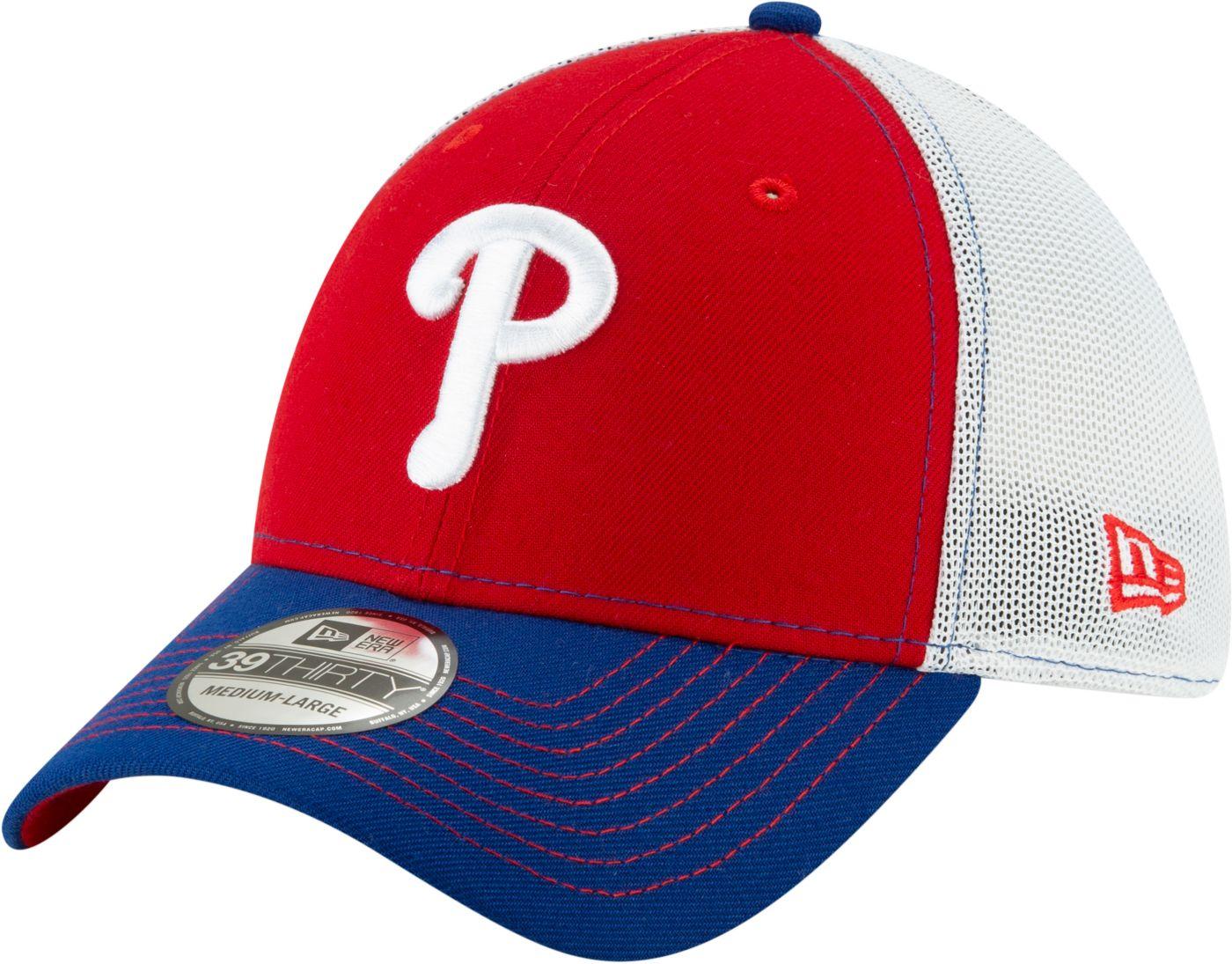 New Era Men's Philadelphia Phillies 39Thirty Practice Piece Stretch Fit Hat
