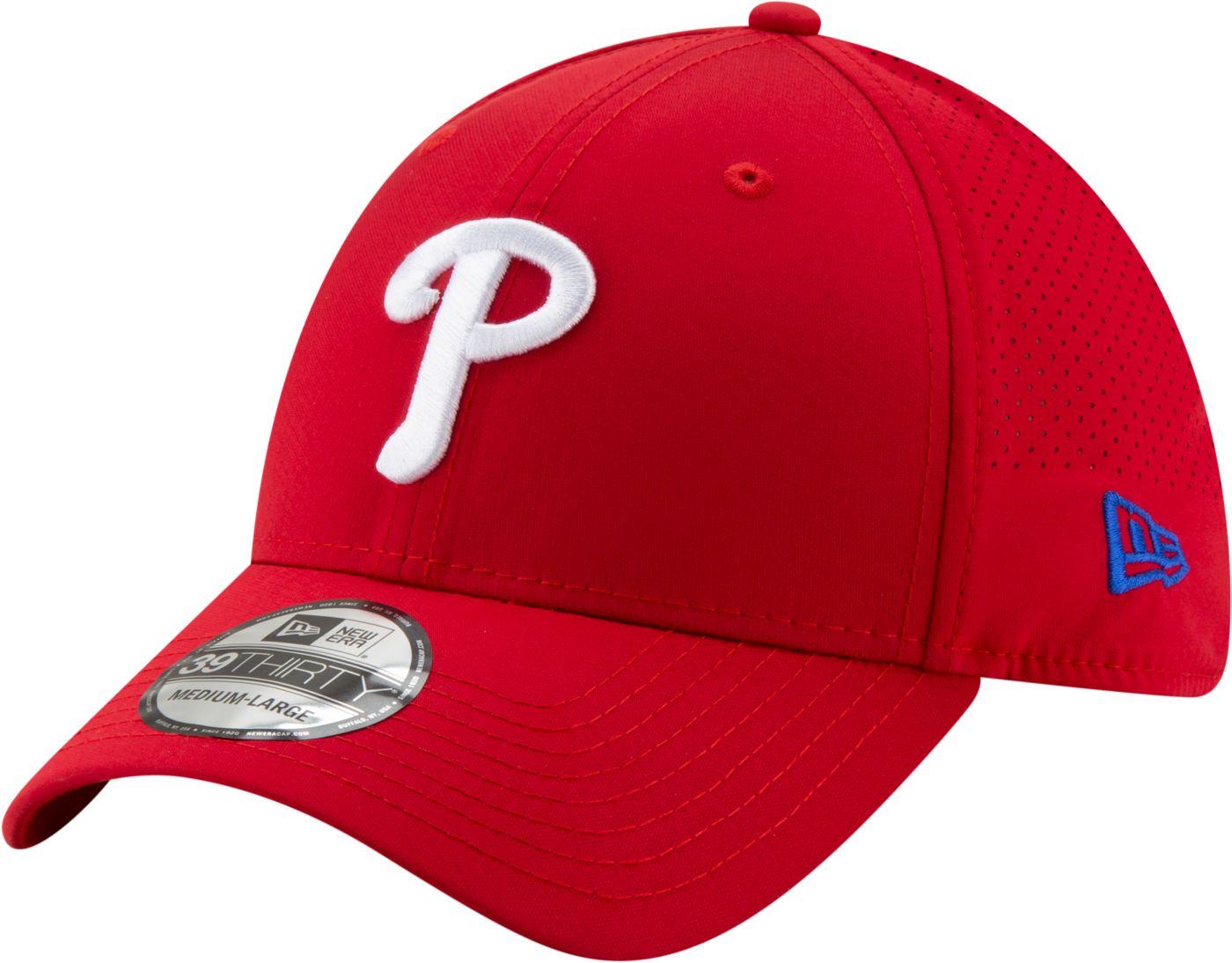New Era Men's Philadelphia Phillies 39Thirty Perf Play Stretch Fit Hat
