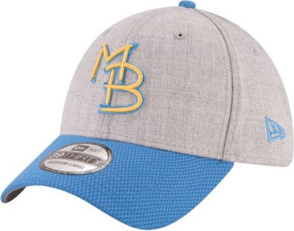 New Era Men S Myrtle Beach Pelicans 39thirty Stretch Fit Hat
