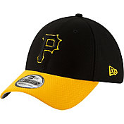 New Era Men's Pittsburgh Pirates 39Thirty HexTech Batting Practice Stretch Fit Hat