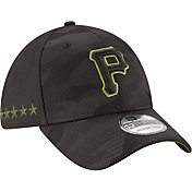 New Era Men's Pittsburgh Pirates 39Thirty 2018 Memorial Day Stretch Fit Hat