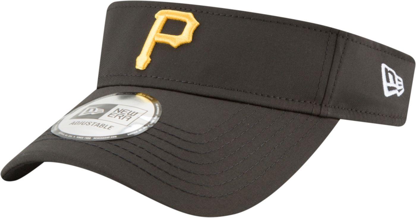 New Era Men's Pittsburgh Pirates Clubhouse Adjustable Visor
