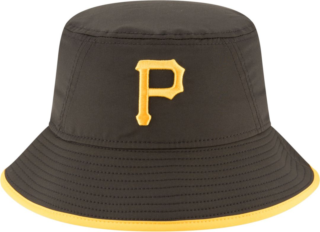 1aaaf5950b9e0 New Era Men s Pittsburgh Pirates Clubhouse Bucket Hat 1