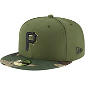New Era Men's Pittsburgh Pirates 59Fifty Alternate Camo Authentic Hat