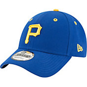 New Era Men's Pittsburgh Pirates 9Forty City Pride Blue/Gold Adjustable Hat