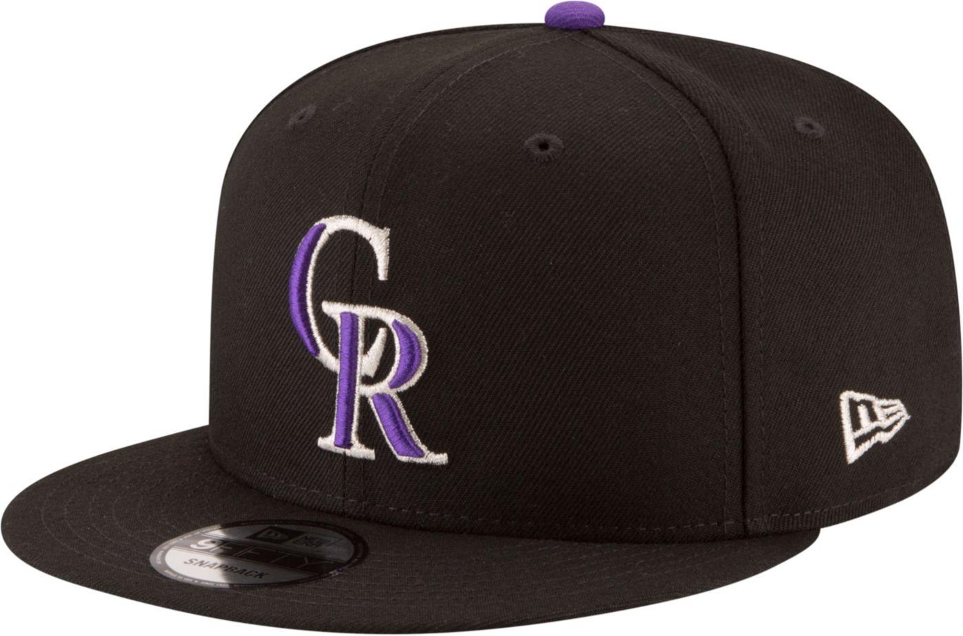 New Era Men's Colorado Rockies 9Fifty Adjustable Snapback Hat