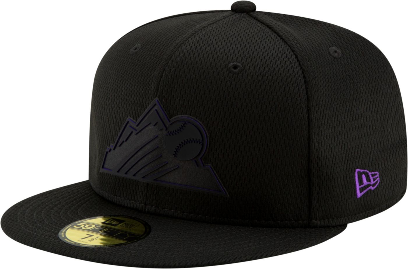New Era Men's Colorado Rockies 59Fifty Clubhouse Black Fitted Hat