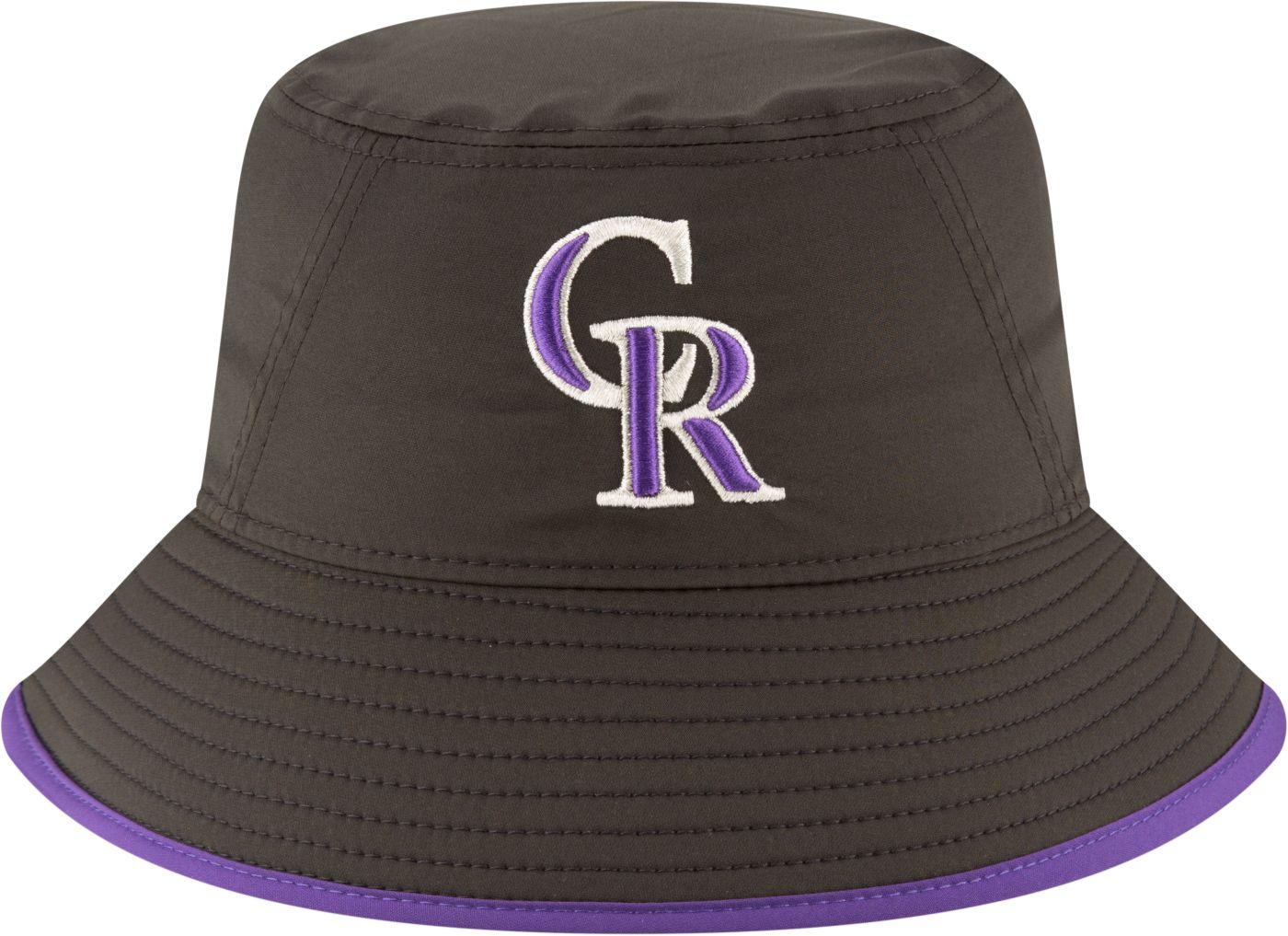 New Era Men's Colorado Rockies Clubhouse Bucket Hat