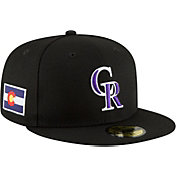 New Era Men's Colorado Rockies 59Fifty Fitted Hat w/ State Flag Patch