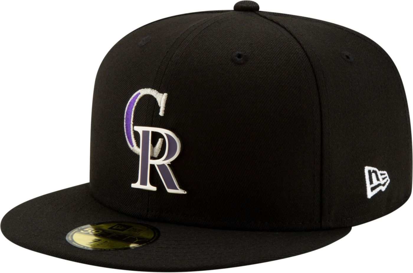 New Era Men's Colorado Rockies 59Fifty Metal Thread Fitted Hat