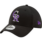 New Era Men's Colorado Rockies 39Thirty Perf Play Stretch Fit Hat