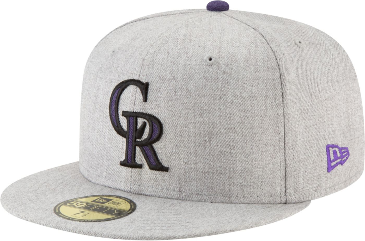 New Era Men's Colorado Rockies 59Fifty Heather Hype Fitted Hat
