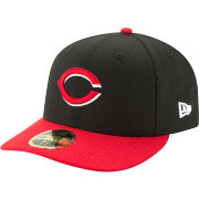 uk availability 72cdd adc81 New Era Men s Cincinnati Reds 59Fifty Alternate Black Low Crown Fitted Hat