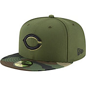 New Era Men's Cincinnati Reds 59Fifty Alternate Camo Authentic Hat
