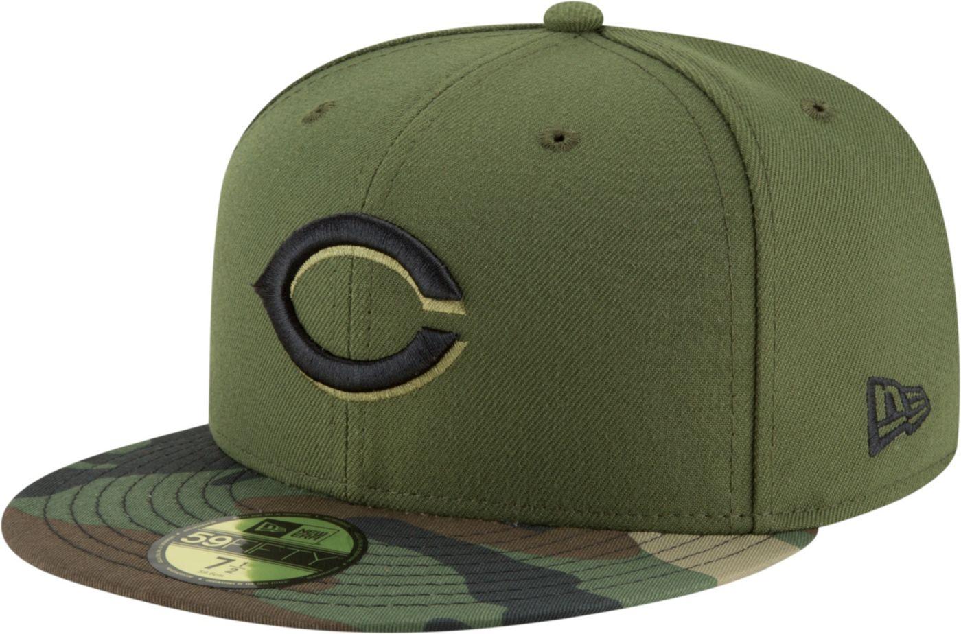 New Era Men's Cincinnati Reds 59Fifty Alternate Camo Authentic Hat