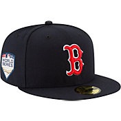 New Era Men's 2018 World Series 59Fifty Boston Red Sox Game Navy Authentic Hat