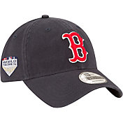 New Era Men's 2018 World Series 9Twenty Boston Red Sox Game Navy Adjustable Hat