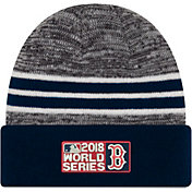 New Era Men's 2018 World Series Boston Red Sox Knit Hat