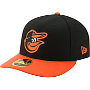 New Era Men's Baltimore Orioles 59Fifty Road Black Low Crown Fitted Hat