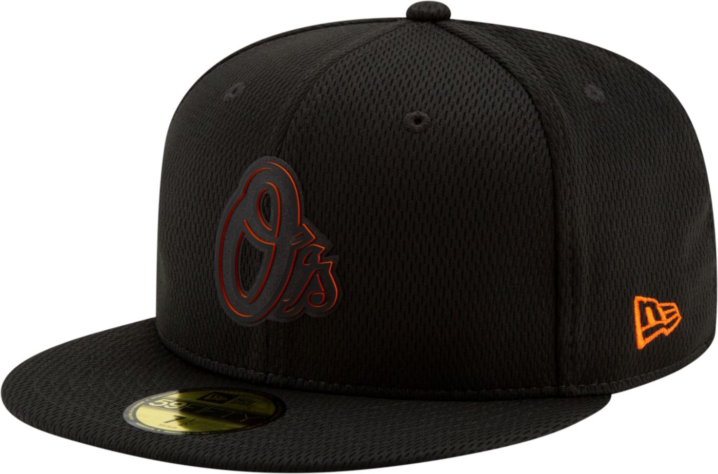 New Era Men's Baltimore Orioles 59Fifty Clubhouse Black Fitted Hat